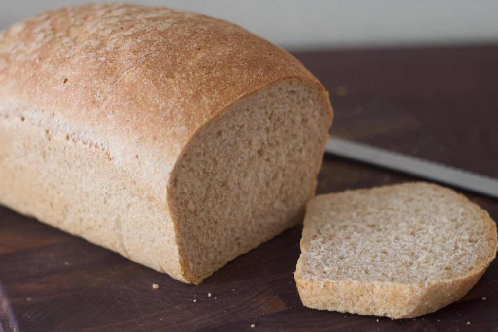 a loaf of homemade bread