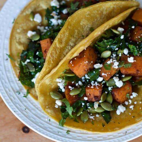 Sweet Potato Black Bean Tacos