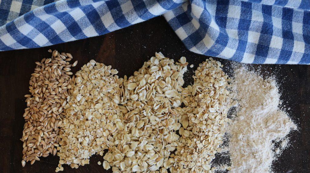 oat groats, steel cut, rolled oats, quick oats, oat flour