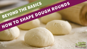 how to shape dough rounds