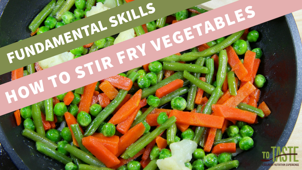how to stir fry vegetables