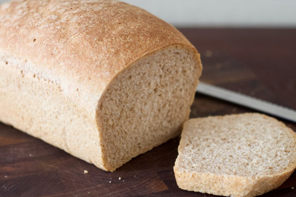 is gluten bad for you? piece of homemade bread