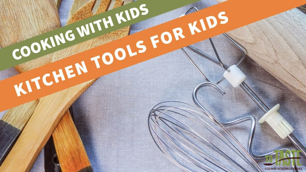 Cooking with Kids equipment